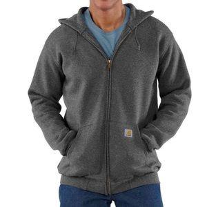🆕Carhartt Mens Medium Hooded Full Zip Sweatshirt